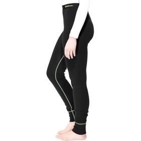 Woolpower Lite Long Johns Damen black/light green